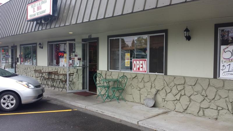 El Inka Restaurant, Gresham (BEFORE)